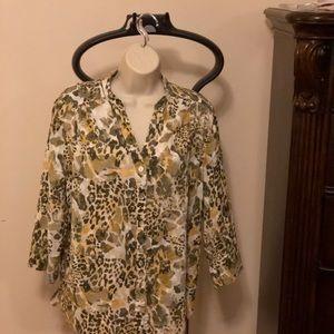Alfred Dunner safari shirt